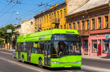 Trolleybus in Kaunas - Lithuania