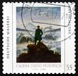 Postage stamp Germany 2011 Painting by Caspar David Friedrich