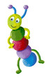 Funny colorful caterpillar - 70533643