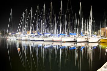 Port Cala in Palermo , Sicily.