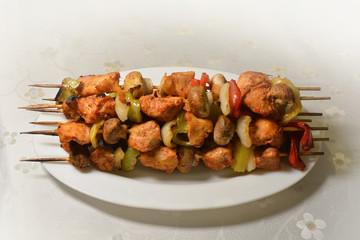 Shish Tawook, kebab, Tawouk, Grill Chicken (Photo)
