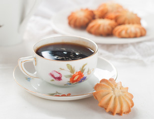 Coffee and cookie