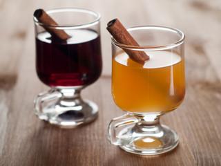 mulled wine or tea