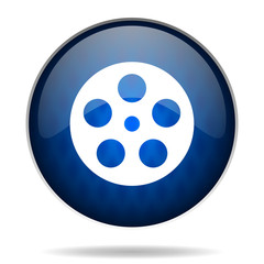 film internet blue icon