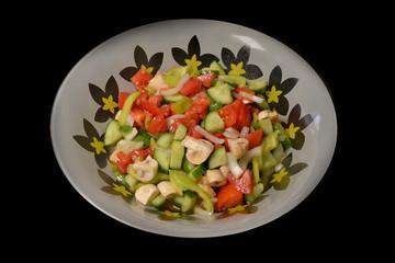 Vegi, Vegetable Salad, Seasonal Food (Photograph)