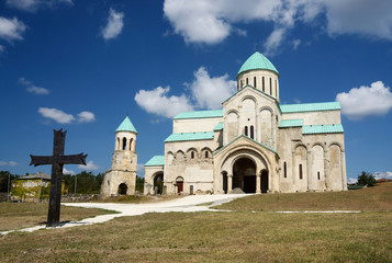 Bagrati Cathedral (unesco heritage) in Kutaisi,Georgia