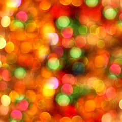 Abstract multicolored background with blur bokeh for design