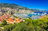 The beautiful city of Monte Carlo,Monaco,Cote d'Azur,Europe
