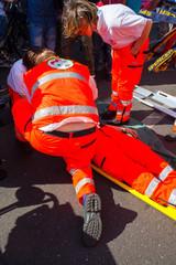 Emergency simulation