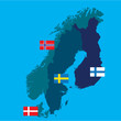 scandinavia - 70538245