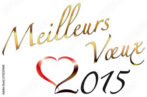 meilleurs voeux 2015 dor�� vectoris�� kazy de kazy, Fichier.