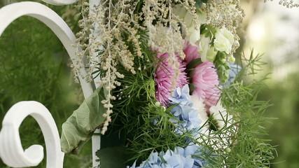 Create festive bouquet