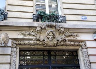 porte d'immeuble
