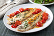 Sole with cherry tomatoes - 70541424