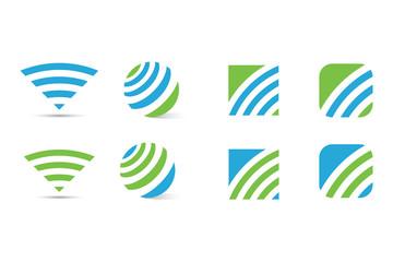 Vector Logo İkon Simge