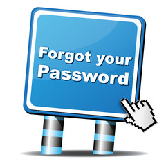 FORGOT YOUR PASSWORD ICON