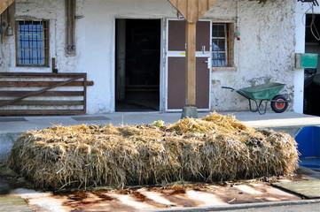 Bauernhof - Stalleingang
