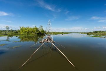 Fischerboot Asien