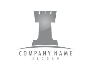 Tower chess logo