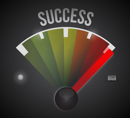 high chance of success illustration design