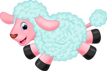 Cute sheep cartoon