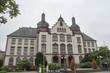 Leinwanddruck Bild - Rathaus Hamm, NRW, Deutschland
