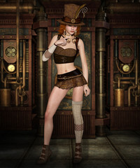 Steampunk Girl
