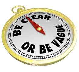 Be Clear or Be Vague Clarity Vs Confusing Message Commuication