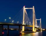 Fototapety Pasco Bridge at Night