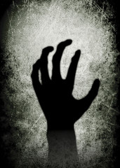 Hand Scary Halloween Festival Background