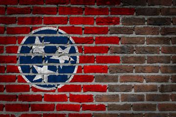 Dark brick wall - Tennessee