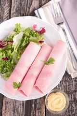 ham and salad
