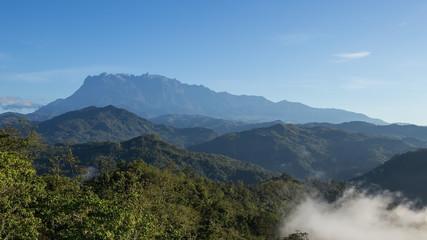 Mount Kinabalu of Borneo