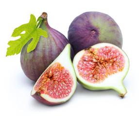 Fresh fruit figs isolated