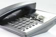 Leinwanddruck Bild - Telefon im Büro