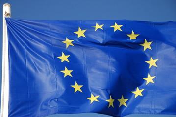 Fahne Europa € Euro