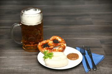 Bayrisches Weißwurstfrühstück