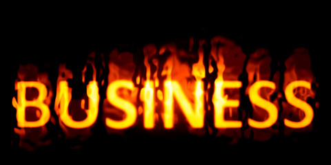 business burning