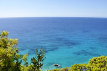 Beautiful sea landscape of Lefkada