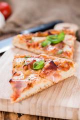 Fresh made Hawaiian Pizza (slices)