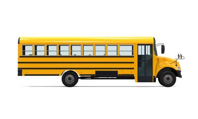 Yellow School Bus © nerthuz