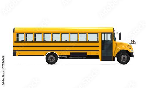 Yellow School Bus - 70556662