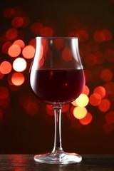 イルミネーションとワイン
