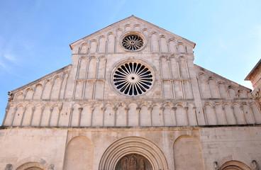 Cathedral of Saint Anastasia. Zadar, Croatia