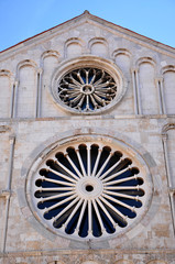 Cathedral of Saint Anastasia. Zadar, Croatia