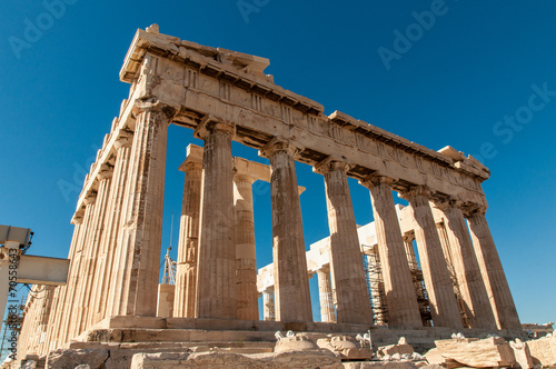 mata magnetyczna Partenon