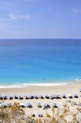 Egremni beach at Lefkada