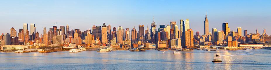 Panoramic view of Manhattan