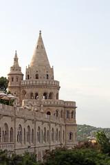Fisherman bastion towers Budapest Hungary