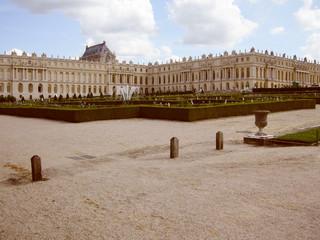 Retro look Versailles Paris